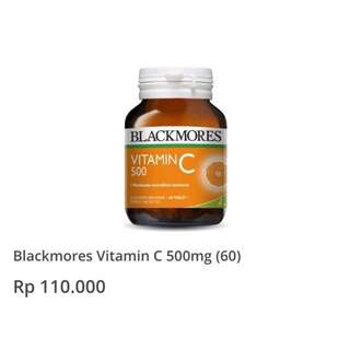 BLACKMORES Vitamin C 500Mg (60)