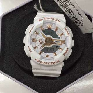 GSHOCK WHITE/GOLD