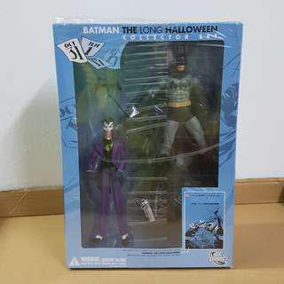 Batman The Long Halloween Action Figure Collector Set - Batman & The Joker