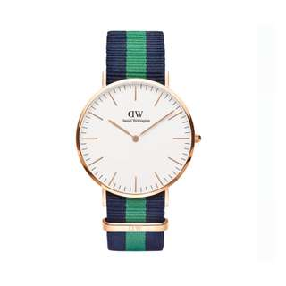 NEW Daniel Wellington Warwick 40mm Men's Watch in Rosegold