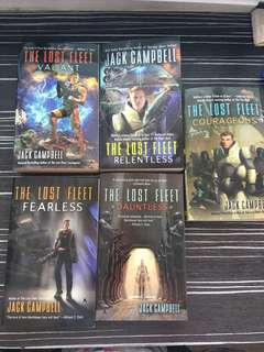 Jack campbell ; The lost fleet (5books)