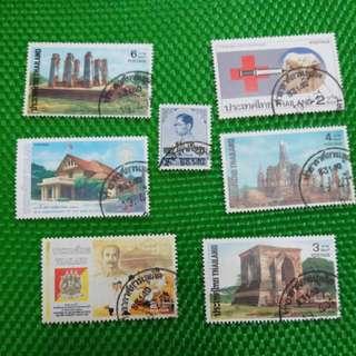 泰國郵票套裝
