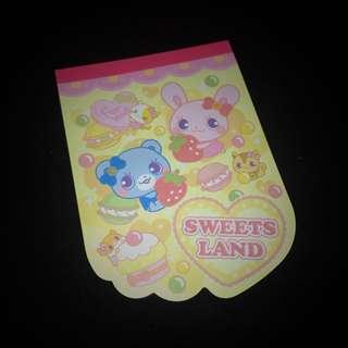 Sweet Lands Notepad