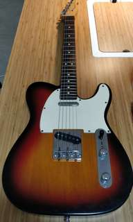 Fender Highway One Telecaster Sunburst