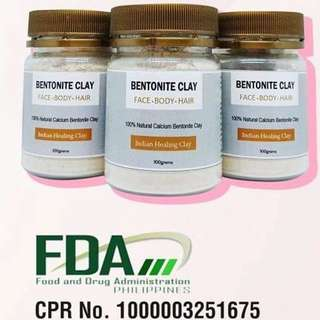 Bentonite clay