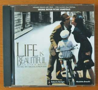 "Soundtrack CD: Life is Beautiful ""La vita è bella"" (1997)"