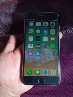 iPhone 6 Plus 64GB warna Space Gray kondisi normal fullset