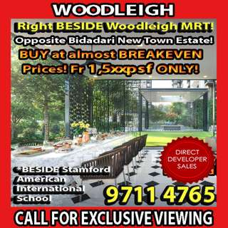 Woodleigh Condo - NEW