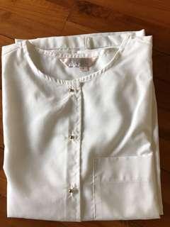 Kivee white shirt free size