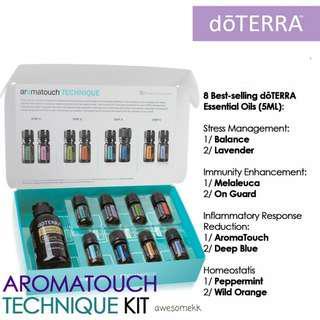 AromaTouch® Technique Kit / essential oil