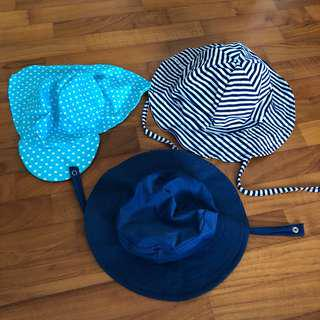 6-18M NEW Beach water hat baby toddler