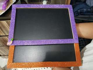 2 pieces of Chalkboard for Sale