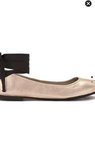 Sale!! Ballerina Golden Flats