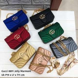 TERMURAH!!! TERBAIK !!! PROMO CUCI GUDANG!!! Gucci sling bag tas import wanita with premium quality
