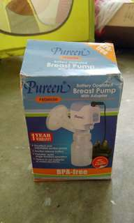 BREAST PUMP AUTO, MILK BAGS AND BOTTLE MILK