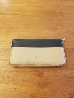 Celine Two Tone Zip Wallet