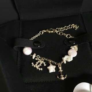 Chanel 水手珍珠手鍊18A