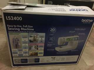 BROTHER Portable Sewing Machine LS2400