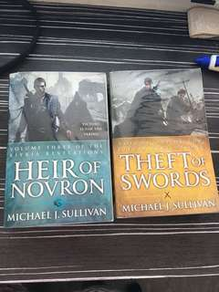 Michael J Sullivan - Theft of swords