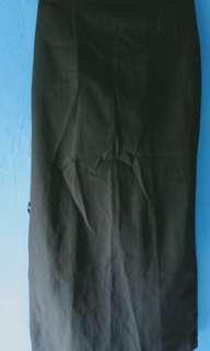 Rok kerja (warna hitam)