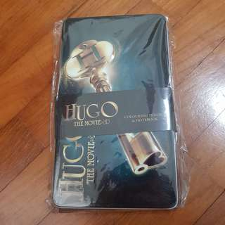 Moving Sale: Hugo colour pencil and note book movie premiuns