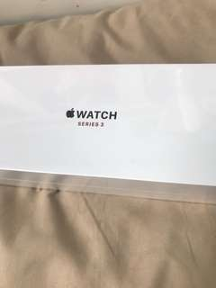 Apple Watch s3 42mm gps+cellular black