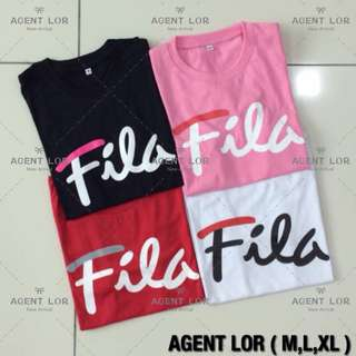 FILA TEE (READY STOCK)