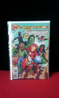 Champions #19 (1st Appearance of Snowguard)