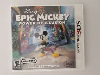 Disney Epic Mickey: Power of Illusion [Nintendo 3DS]