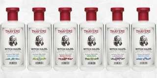 🚚 Thayers Witch Hazel Toner (Preorder)