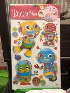 Room wallpaper 3D sticker
