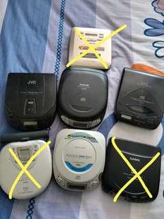 Discman CD Walkman  不同牌子 一次過清倉賣