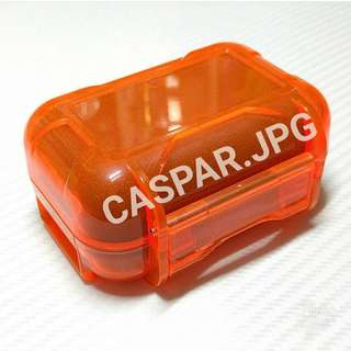 $58 橙色防水耳機盒防壓防撞防跌Westone UE900S Shure 215 315 425 535 846