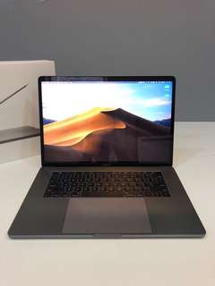 "MacBook Pro 15"" touch-bar (2017, 2.9GHz, 512gb)"