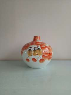 China Porcelain With Artist Certificate Height 24.5cm Perfect