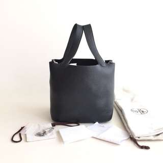 Authentic Hermes Picotin 22 Black