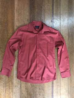 Mens Long Sleeve Shirt for small or medium slim fit type