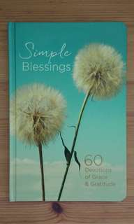 BN Devotional - Simple Blessings: 60 Devotions of Grace & Gratitude