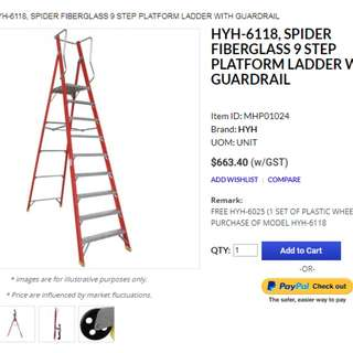9 Step Ladder
