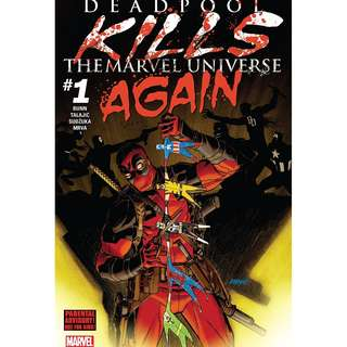 Deadpool Kills the Marvel Universe Again #1 - #5 complete miniseries (Spider-man, X-Men, Cable, Avengers)