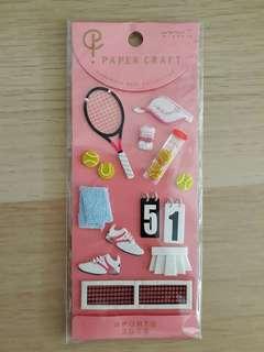 Papee craft handmade 3D stickers