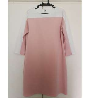 Block shift dress
