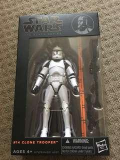 Reduced ! Star Wars Black Series # 14 CloneTrooper