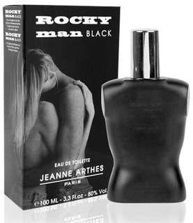 Rocky Man Black Jeanne Arthes EDT 100ml for men