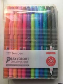 Tombow Playcolor 2  (36 色)