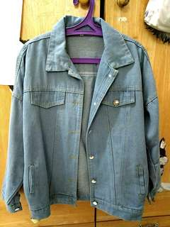 KOREAN DENIM JACKET (BLUE)