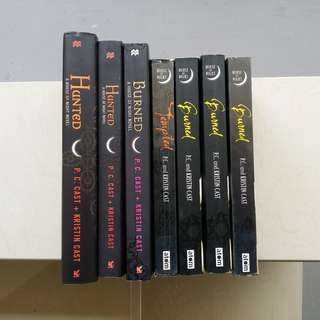 (FINAL SALES) House of Night Books by P.C. Cast and Kristin Cast