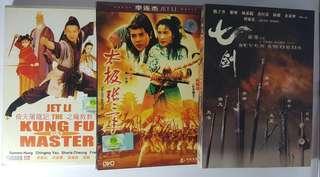 Chinese movie × 3 titles