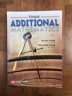 Panpac Additional Mathematics Textbook