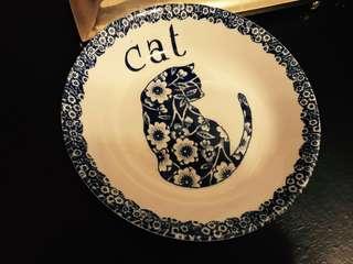 全新英國貓咪小食瓷碟,一見傾心!👍👍